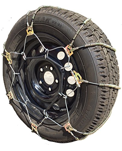 Price comparison product image TireChain.com 8.25-15,  8.25 15 Diagonal Cable Tire Chains Priced per Pair