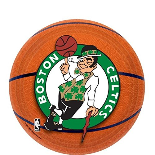 Amscan Boston Celtics Dessert Plates, 7