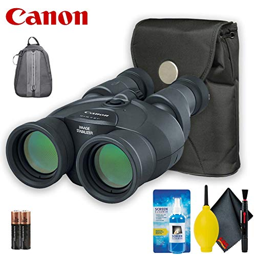 Canon 12x36 is III Image Stabilized Binocular Base Accessory Bundle