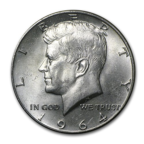 1964 Silver Kennedy Half Dollars 100 Face Value Bag 1964