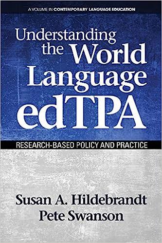 Understanding the World Language edTPA Cover Art