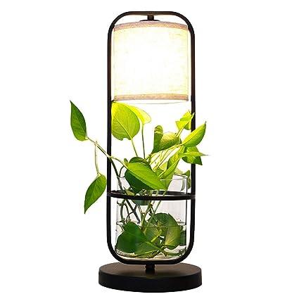 Lámparas de mesa- Lámpara de Escritorio de la Planta, luz de ...