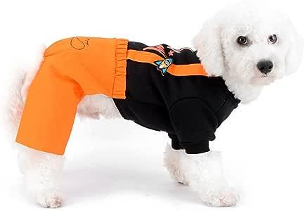 Zunea pequeño Perro Sudadera Pantalones de chándal Pantalones de ...