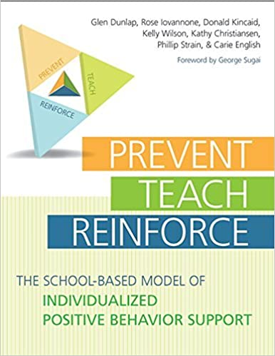 Book By Glen Dunlap - Prevent-teach-reinforce: The School-based Model of Individualized Positive Behavior Support (Pap/Cdr) (8.2.2009)