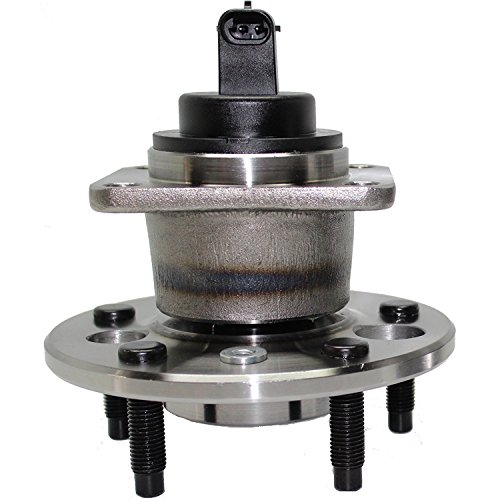Brand New - Rear Wheel Hub and Bearing Assembly for Aurora, Bonneville, DeVille, DTS, LeSabre, Riviera 5 Lug W/ABS 512003 ()