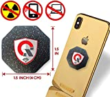 EMF Protection cell phone – Two International AWARDS as Shield for EMF/EMR Radiation Blocker Protector Devices – Best Neutralizer QuanThor Patch for Smartphone, WiFi, iPhone, Mobile, Laptop