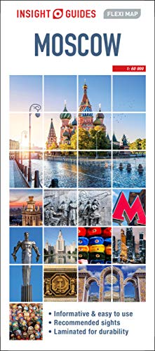 Insight Guides Flexi Map Moscow (Insight Flexi Maps)