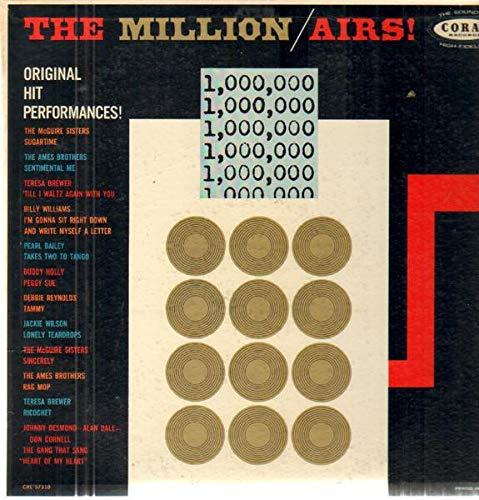 The Million Airs; Original Hit Performances LP - Coral - CRL 57310 - Oldies ()