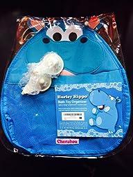 Hurley Hippo Bath Toy Storage Organiser Blue Amazon Co