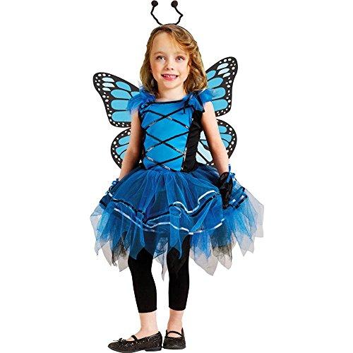 Ballerina Butterfly 3t 4t Blue FW114071BTL