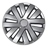 05 nissan altima hubcaps - TuningPros WSC2-062S16 Hubcaps Wheel Skin Cover Type 2 16-Inches Silver Set of 4