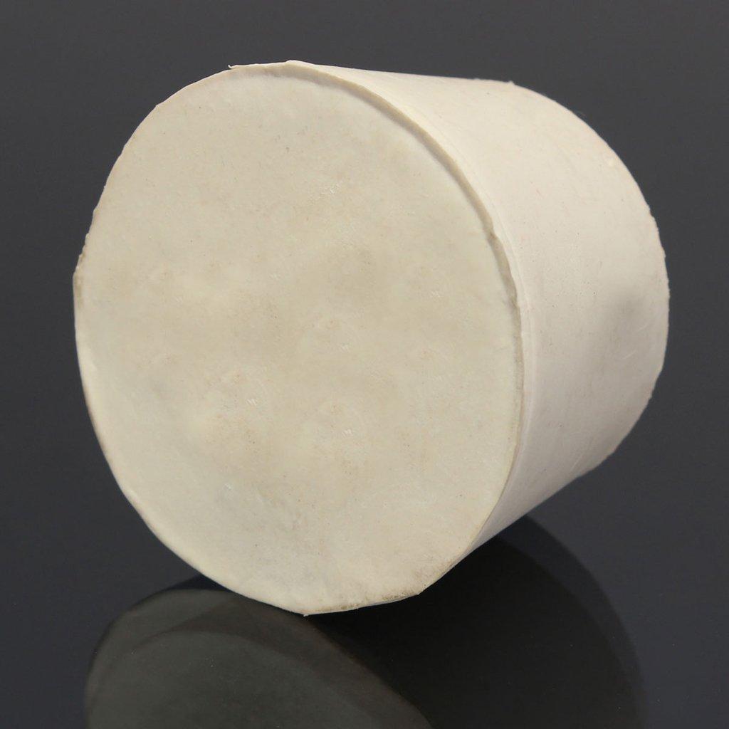 26x19x28mm 5pcs Bouchon En Caoutchouc Laboratoire Solide Bondes Flacon Tube Effil/é Branche