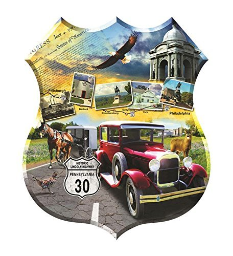 SunsOut 95812 - Todd: Lincoln Highway (Formpuzzle) - Puzzle 1.000 Teile