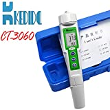 professional Water Quality Test digital water TDS tester soil TDS Pen test Water tds meter 0 to 1000 tds Meter and Temperature test aquarium swimming pool Solids Industrial