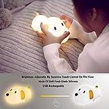 LED Kids Night Light, Cute Puppy/Cat/Elk Soft