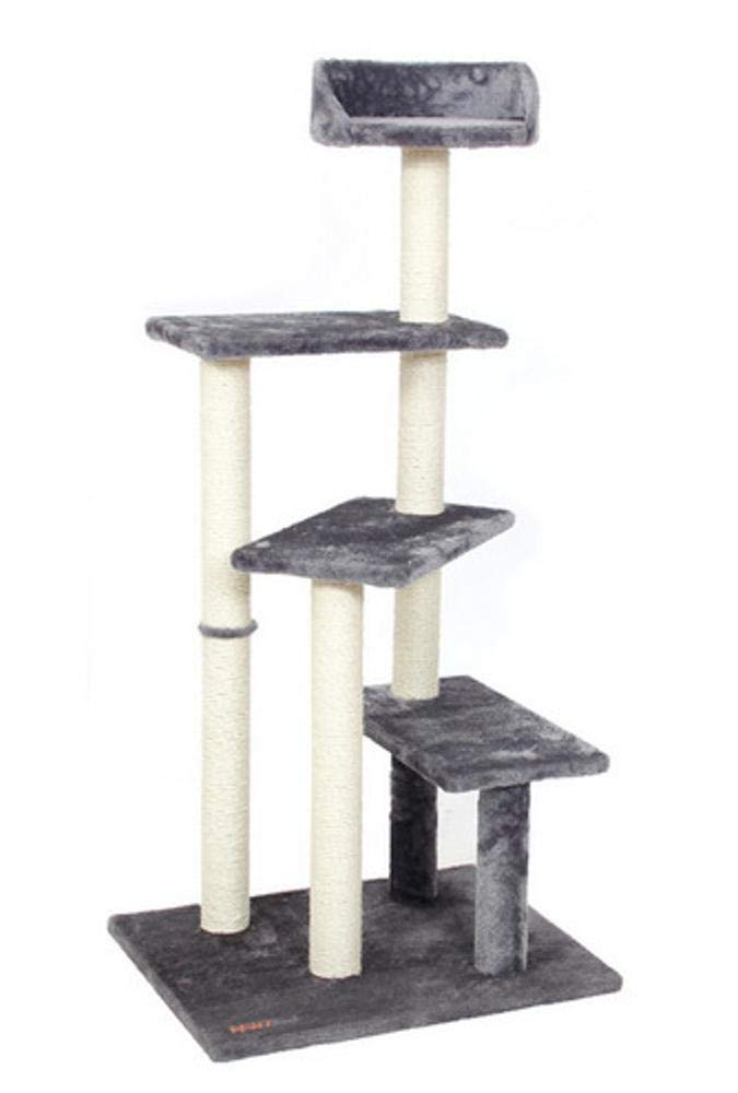 Deluxe Multi Cat Tower cat Trees Towers Large sisal cat Platform Cat Cat Litter Cat Scratch Board cat Shelf pet cat Toy 60  50  125cm