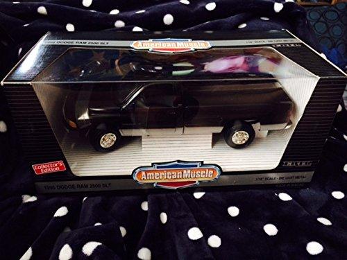 Ertl Dodge Diecast Model (#7334 Ertl American Muscle 1995 Dodge Ram 2500 SLT, Black 1/18 Scale Diecast)