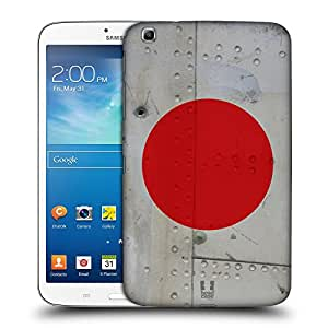 Head Case Designs Japanese Nation Markings Hard Back Case Cover for Samsung Galaxy Tab 3 8.0 T311 T315 T310