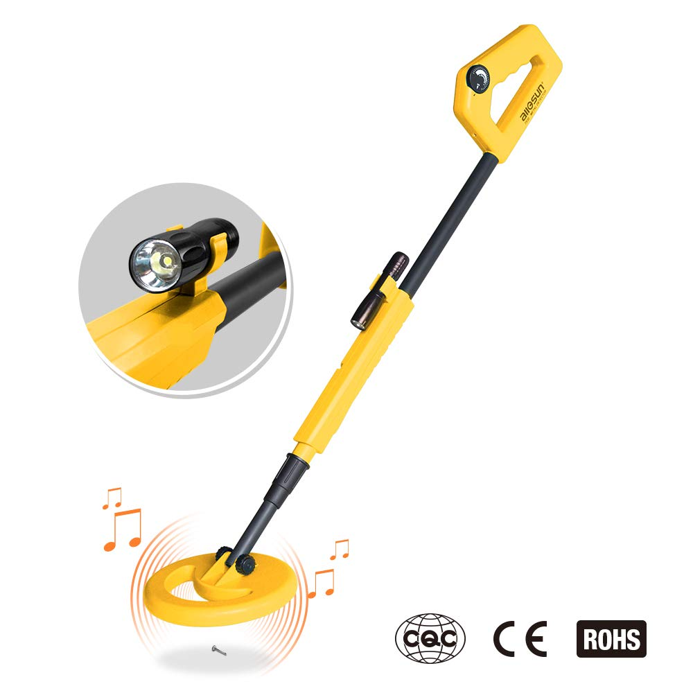 Amazon.com: allsun Handheld Metal Detector for Junior Kids Education Exploration Toy Color Yellow: Toys & Games