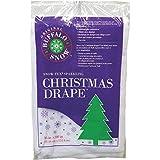 Buffalo Christmas Drape 36