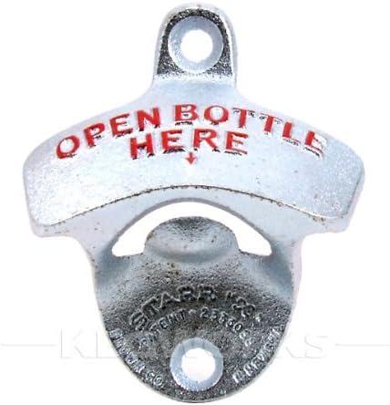 Pop A Top Wall Mount Bottle Opener Metal Sign HOLDEN LJ GTR XU1 RED