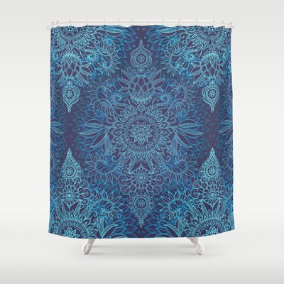 Best Cobalt Blue Shower Curtain Designs Fabric Mildew Free Reviews
