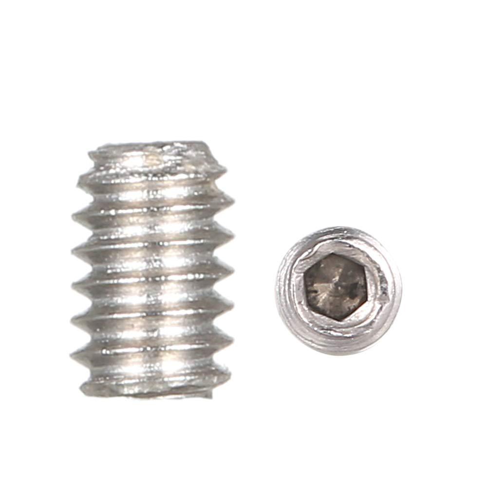 8 de DIN916 304 perno de acero inoxidable Tornillo Punto de copa Punto de copa Zwhyo Good Quanlity Juego de dados hexagonales M2