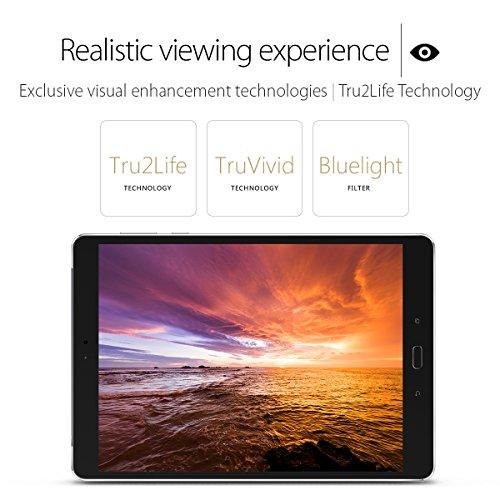 ASUS ZenPad 3S 10 9.7-inch 4GB RAM 64GB Tablet (Z500M-C1-GR)- Titanium Grey/Glacier Silver (U.S. Warranty)