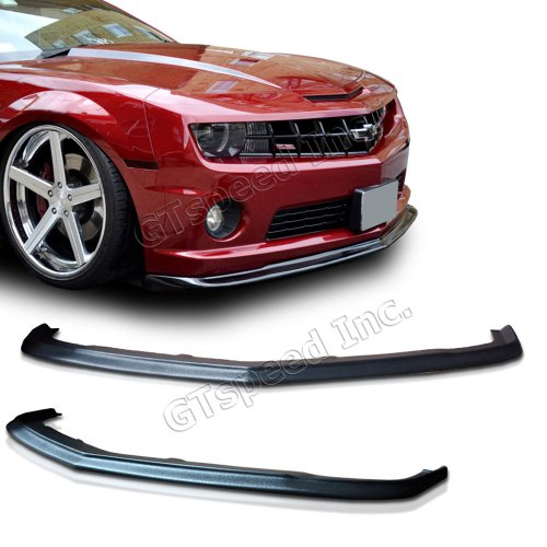 NEW - 10-12 CHEVY CAMARO SS V8 SLP Style PU Front Bumper Lip Chin Spoiler (Bumper For Camaro compare prices)