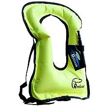Rrtizan Unisex Adult portable Inflatable canvas Life Jacket Snorkel Vest …