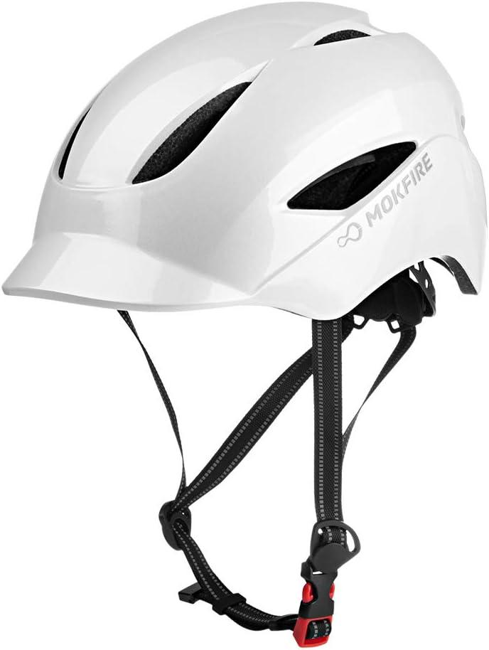 MOKFIRE Cool & Sleek Commuter Bike Helmets