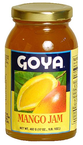 Goya Mango Jam, 17-Ounce Jars (Pack of 3)