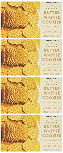 Trader Joe's Belgian Butter Waffle Cookies (4 Pack)