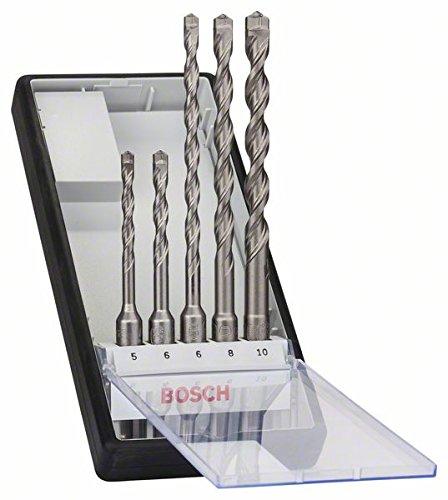 Bosch Pro Hammerbohrer-Set SDS-plus-7, 5-teilig