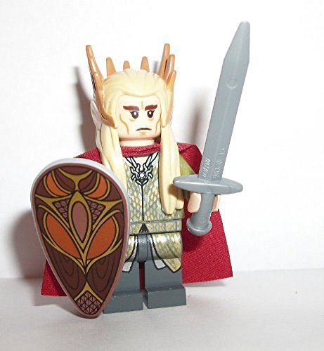 Lego: The Hobbit - Desolation of Smaug - Thranduil minifigure (Elf King)