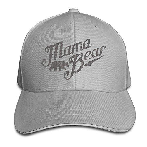 4fb6d00c70db Mama Bear New Mom Gift Visor Hats Style Sandwich Cap Cap