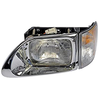 Dorman 888-5104 Driver Side Headlight Assembly For Select International Models: Automotive