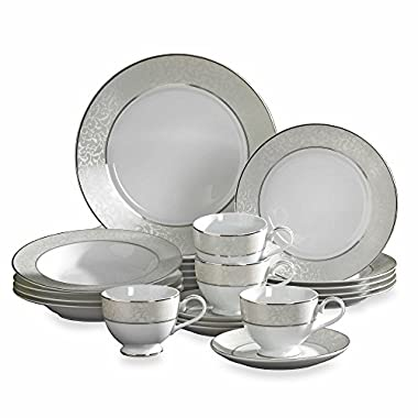 Mikasa Parchment 20-Piece Fine China Dinnerware Set