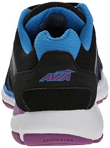 Avia Vrouwen Avi-tout Training Schoen Zwart / Briljant Blauw / Helder Violet