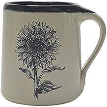 Great Bay Pottery Sunflower Coffee Mug