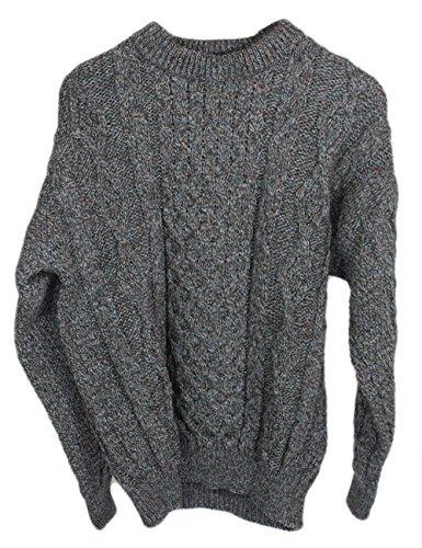 Mens 100% Wool Sweater - 2