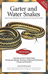 Garter Snakes and Water Snakes: From the Experts at advanced vivarium systems (The Herpetocultural Library) by David Perlowin (2005-03-01)