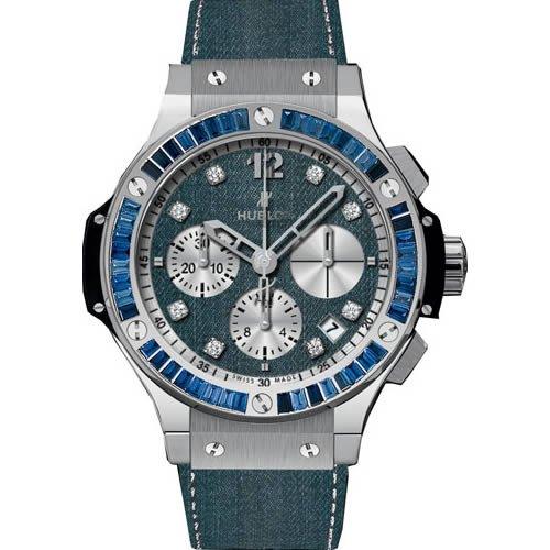 Hublot Big Bang Jeans Carat Sapphire & Diamond Automatic Chronograph - 341.SX.2710.NR.1901.JEANS