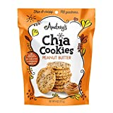 Audrey's Chia Cookies, Non-GMO Premium Healthier Cookies (Peanut Butter, 2 PK)