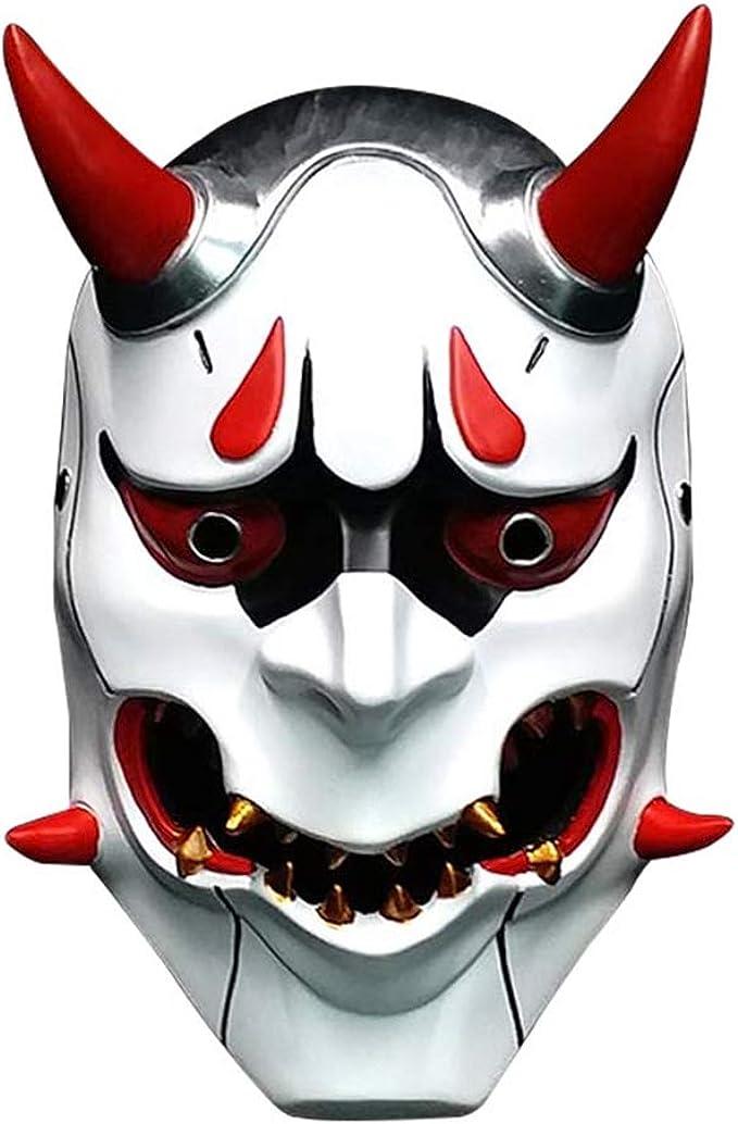 Amazon.com: Máscara de resina Demon Prajna, deluxe Scary ...
