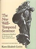 The New Well-Tempered Sentence, Karen Elizabeth Gordon, 0395628830