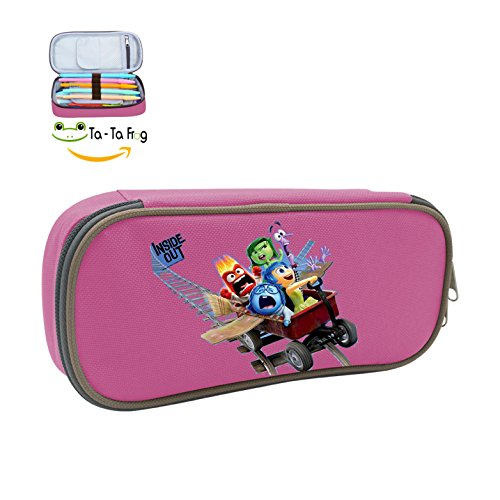 Daihe Case Inside Out Family Pen Case Stationery Pouch Bag Case Cosmetic Makeup for School Supplies