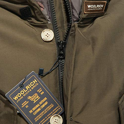 Woolrich Camou Giubbotto Tg Verde Bambino 12 Wkcps1988 B's Artic Col Militare q4wT6wSr