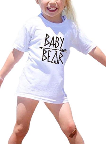 Family Pack Family Clothing Camiseta de Mangas Familiares Camiseta de Manga Corta para papá y mamá Camiseta Baby Matching Camiseta de Manga Corta Top: Amazon.es: Ropa y accesorios