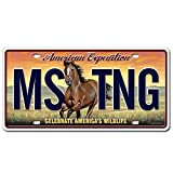 Alps Mountaineering LCNS-110 American Expedition Mustang License Plate